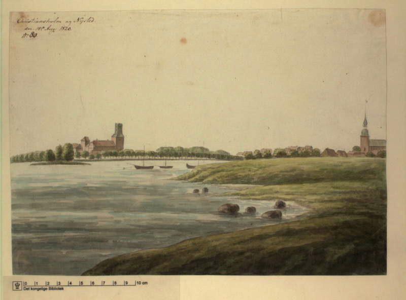 1820: prospekt fra syd 1